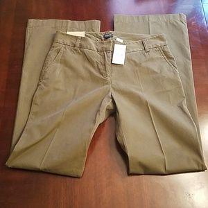 Jcrew Factory pants size 4 NWT